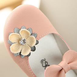 Toddler Kids Baby Shoes Children Girl Flower Shoes Fashion P