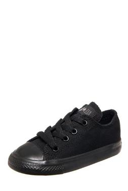 Converse Toddlers Chuck Taylor OX Classic Black Monoch Baske