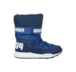 PUMA Trinomic Royal Navy Blue Snow Boots Lined Water Proof C
