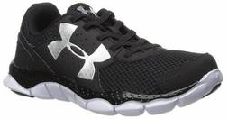 UNDER ARMOUR UA BPS Engage Bungee Running Shoes sz 11 Black