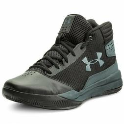 UNDER ARMOUR UA Jet 2017 Kids Shoe Black Boys Athletic Baske