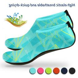 unisex adult kids barefoot water skin shoes