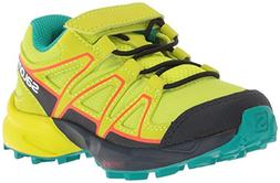 Salomon Unisex-Kid's Speedcross Bungee K Trail Running Shoe,