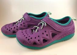 Crocs Unisex-Kids Swiftwater Play Shoe K Sneaker, Amethyst,