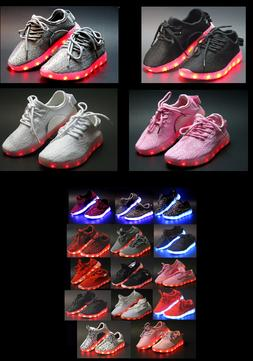 huge selection of 19d5a 21a5a Unisex Light Up LED Shoes For Baby Toddler And Youth Kids At