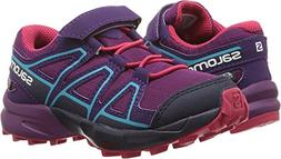 Salomon Unisex Speedcross CSWP K Trail Running Shoe, Grape J