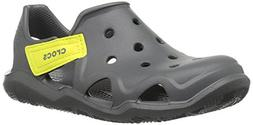 unisex swiftwater wave sandal flat slate grey