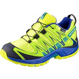 Salomon Unisex XA PRO 3D CSWP J Trail Running Shoe, Acid Lim