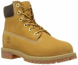 "Timberland 6"" Premium Waterproof Boot ,Wheat/Ble,6 M US Big"