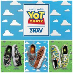 VANS X Disney Pixar Toy Story Kids Shoes Aliens Buzz Lightye