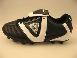 Vizari Youth Boys Soccer Cleats Viper Black White Performanc